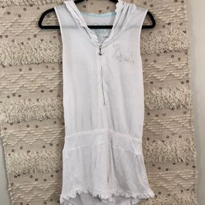 Betsey Johnson blue : bride romper